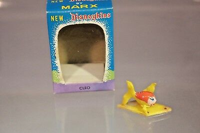 Marx Disneykins Cleo from Pinocchio with Window Box (Hand Painted - 1960's)