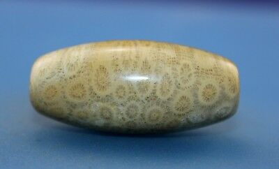 42*19 mm Antique Dzi Agate old Bead from Tibet **Free shipping**