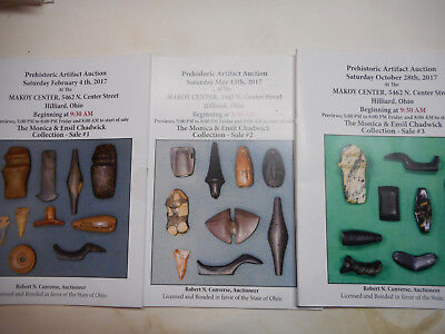authentic indian relics Major collections  ensil chadwick earl townsend catalogs