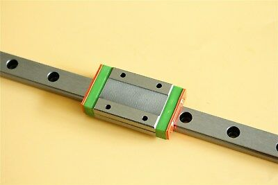 Sliding Guide MGN12 500mm Miniature Linear Guide Rail MGN12H Bearing Block
