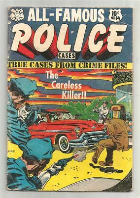 All Famous Police Caces #14, March 1954