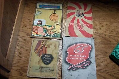 Lot -   vintage recipe Cookbooks, 1920s Onward