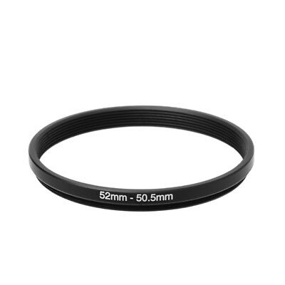 52mm To 50.5mm 52mm-50.5mm Metal Step Down Filter Lens Ring Stepping Adapter