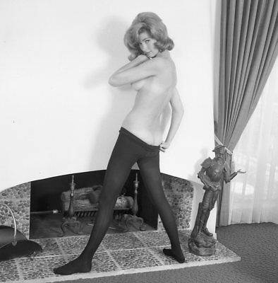 1960s Ron Vogel Negative, gorgeous nude pin-up girl Holly Debson, t207566