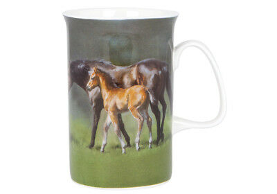 NEW Horse and Foal Togetherness Fine Bone China Tea Coffee Mug Ashdene