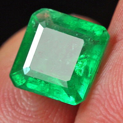 2.3Ct 100% Natural Museum Grade Green Emerald Collection QMD3424