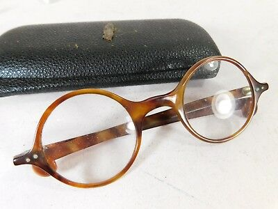 Vintage / Antique Pair of Spectacles / Glasses in Case
