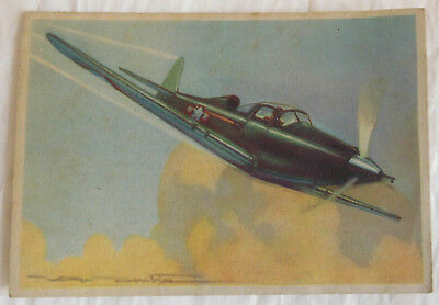 1 CPA Carte Postale Edition Photochrom Toulouse Avion Bell Airacobra Aviation.