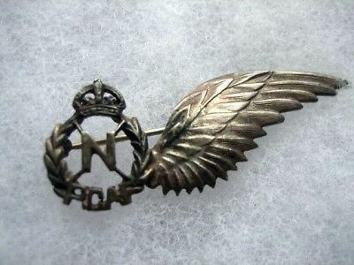WWII Silver RCAF Navigator Wing