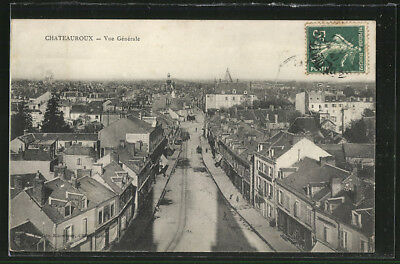 CPA Chateauroux, Vue Generale