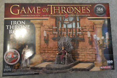 GAME OF THRONES Bauset IRON THRONE ROOM 314 Teile NEU Eiserner Thron Thronsaal