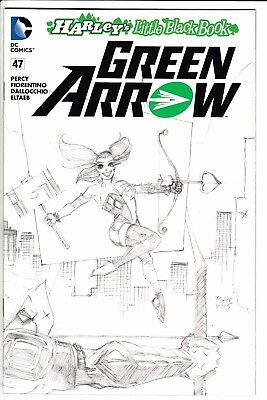 GREEN ARROW #47, TIM SALE HARLEY QUINN SKETCH VARIANT, New, DC (2016)