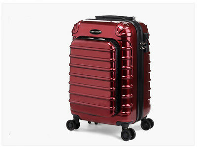 """A29 24"""" ABS PC Password Lock Portable Case Trolley Travel Bag Suitcase S"""