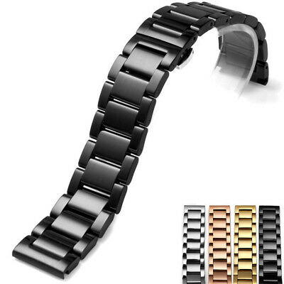 Stainless Steel Metal Strap Replacement Watch Band 18mm 20mm 21mm 22mm 23mm 24mm