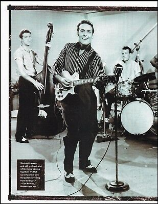 The Carl Perkins Band circa 1957 Gibson Les Paul guitar 8 x 11 pin-up photo