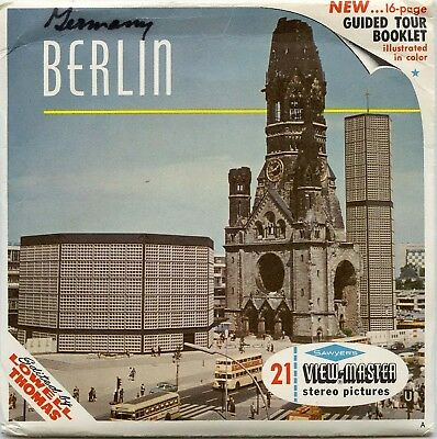 Berlin, Germany - Classic ViewMaster - 3 Reel Packet - B192-S6