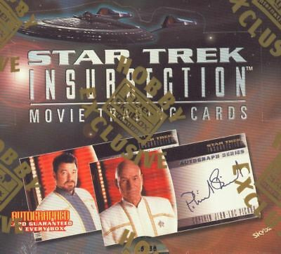 Star Trek INSURRECTION Movie sealed box