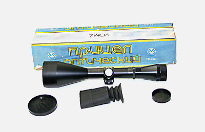 Russian 8x 56mm Rifle Scope Three Line German Style Recticle (DB-43)