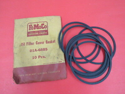 NOS 1940 1941 1948 1947 1946 Ford oil filter cover gaskets lot of 10 No Reserve