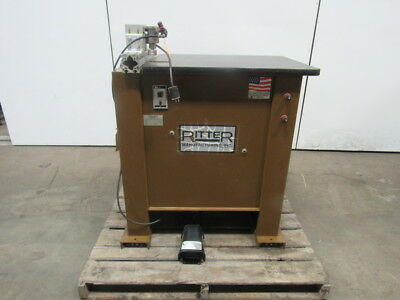 Ritter R220T Double Spindle Pocket Hole Machine Wood Working 115V Pneumatic