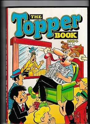 The Topper Book Annual 1984 Not Price Clipped In Vgc