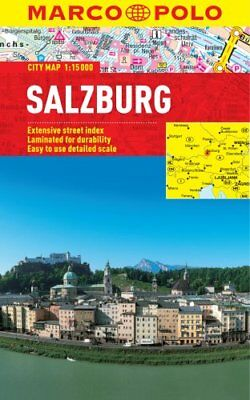 Salzburg Marco Polo Laminated City Map by Marco Polo 9783829769761