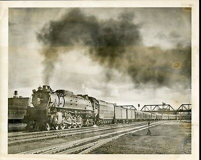 Antique RAILROAD LOCOMOTIVE Photograph 22 UNION PACIFIC Engine #830