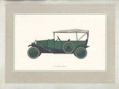 1919 Citroen Type A Factory Frameable Print wz5914