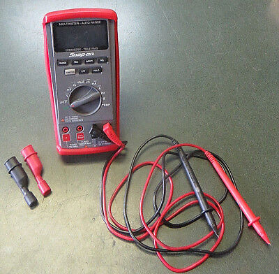 Snap-On Eedm525E, Automotive True Rms Digital Multimeter With Leads