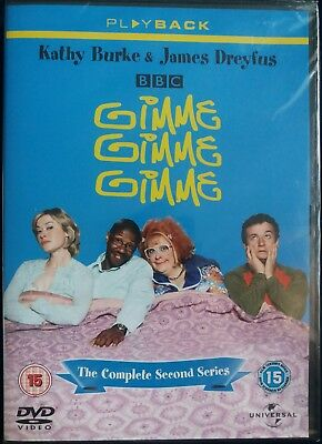 Gimme, Gimme, Gimme - Series 2 - Complete (DVD) - New in wrapper