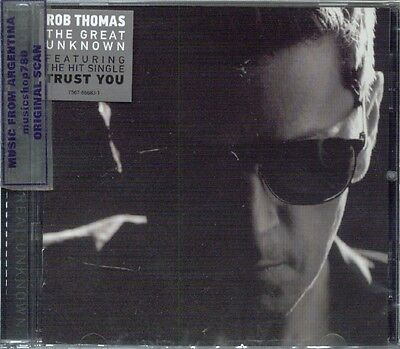 Rob Thomas The Great Unknown Sealed Cd New 2015
