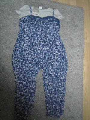 Brand New Next Little Girls 2 Piece Playsuit Age 5-6 Years