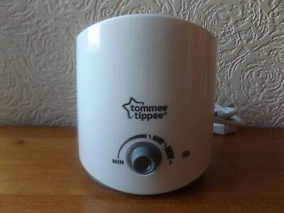 Tommee Tippee  Baby Bottle Warmer With 3 Heat Settings