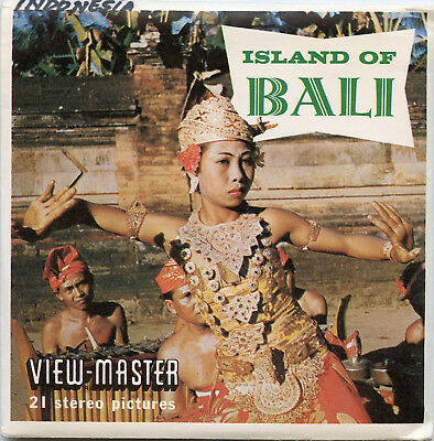 Bali - Indonesia - Classic ViewMaster - 3 Reel Packet - B252-S5