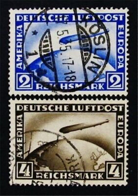 nystamps Germany Stamp # C36 C37 Used $88