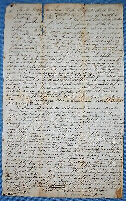 Deed for Land in Northfield, MA dated Dec. 5, 1783 - Sold by Rev. War Lt. Janes
