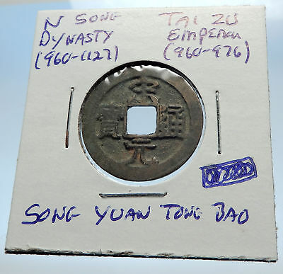 960AD CHINESE Northern Song Dynasty Antique TAI ZU Cash Coin of CHINA i71575