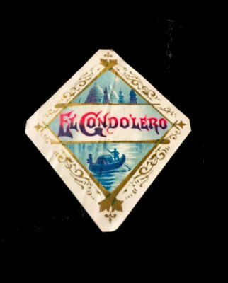 "CIGAR BOX LABEL=""EL CONDOLERO""=#3484=GEO S. HARRIS & SONS=Philadelphia-PA"