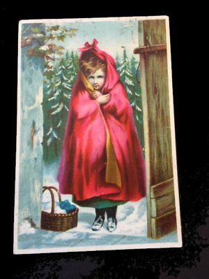 Victorian trade card=Dr. Jaynes Liniment=Little RED Riding Hood=Mt. Olive-MO