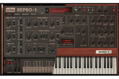 u-he Repro-1 & 5 Software Synthesizer