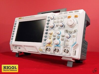 Rigol DS2102A 2 Channel 100 MHz Digital Oscilloscope incl. Cal Test CT4042 Kit