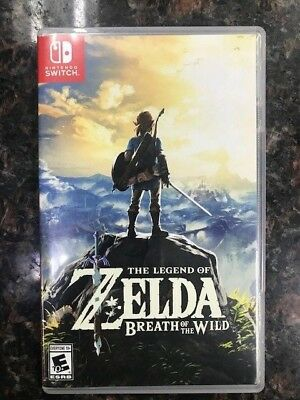 The Legend of Zelda: Breath of the Wild (Nintendo Switch Game, 2017) Pre-Owned
