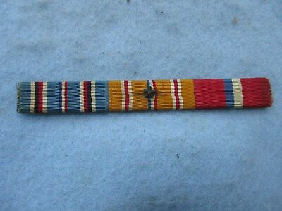 WWII US Navy Ribbon Bar Over Sized Pacific ATO Philippines Star PB Marines WW2