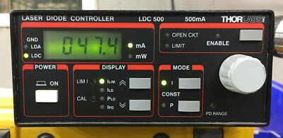 Thorlabs LDC 500 laser diode controller 500mA