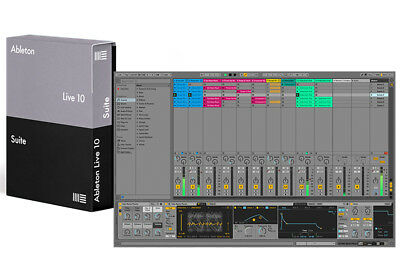 Ableton Live 10 Suite Upgrade from Live 10 Standard