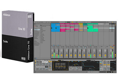 Ableton Live 10 Suite Upgrade from Live 7-9 Suite