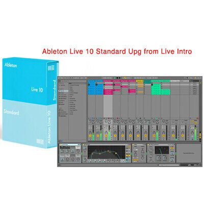 Ableton Live 10 Standard Upgrade from Live Intro