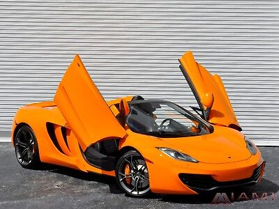 2013 McLaren MP4-12C Spider! Carbon Package!! 2013 McLaren MP4-12C Spider Best Color Combo!! As New Condition!! Carbon Package