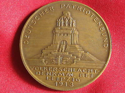 Orig. Old  German medal  SAXONY  1913