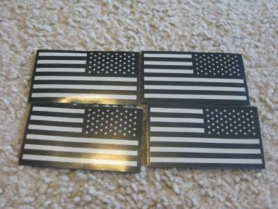 Us Subdued Ir Flags Patches Lot Of 4 New 8887